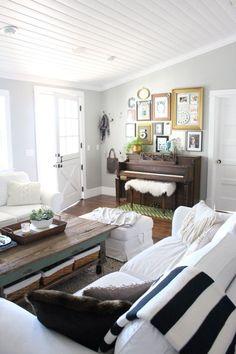 The Pleated Poppy Living Room Piano BenchPiano RoomUpright DecorPiano