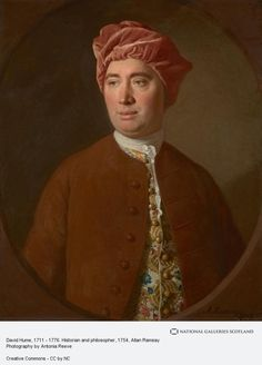 Allan Ramsay, David Hume, 1711 - 1776. Historian and philosopher (1754)
