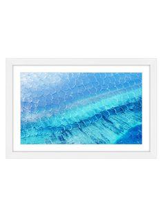 Blue Pools by Parvez Taj (Framed Giclee) by Parvez Taj at Gilt