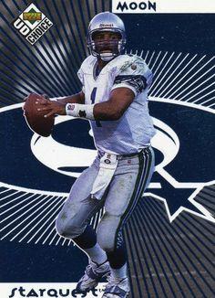 61d50030 RARE 1998 UPPER DECK STARQUEST WARREN MOON SEATTLE SEAHAWKS MINT Seahawks  Team, Seattle Seahawks,
