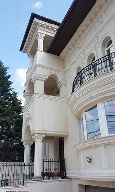 Proiect Casa Rezidentiala zona Podul Grant, Bucuresti – Profile Decorative Concrete Blocks, Design Case, Profile, Interior Designing, Mansions, Architecture, House Styles, Houses, Home Decor