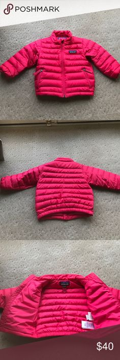 Patagonia down sweater jacket Hot pink Patagonia down sweater jacket. Baby 12-18 months Patagonia Jackets & Coats Puffers