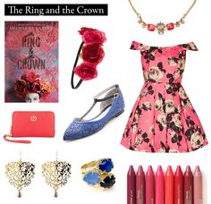 "Outfit inspired by The Ring and the Crown by Melissa de la Cruz.   ""I will give Isabelle her moment, as you cannot fail to observe she has dressed for it."""