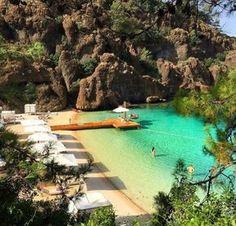 Marmaris Turkey - Information Wonderful Places, Great Places, Beautiful Places, Cool Places To Visit, Places To Go, Marmaris Turkey, Turkey Travel, Interior Exterior, Monuments