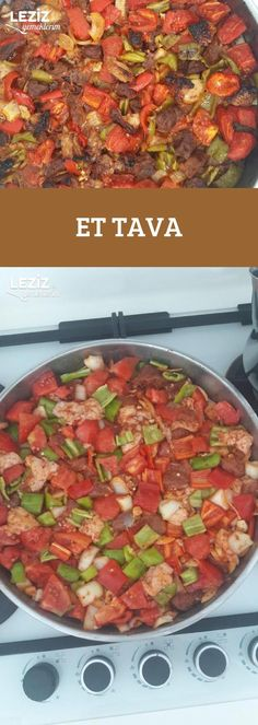 Et Tava - Leziz Yemeklerim - Et Tava Et Tava Et Tava Welcome to our website, We hope you are satisfied with the content we offer - Meatloaf Recipes, Meat Recipes, Low Carb Recipes, Dinner Recipes, Turu, Healthy Food To Lose Weight, Rice Dishes, Healthy Chicken Recipes, Food And Drink