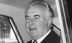 Gough Whitlam in 1976.