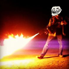 Just handmade flamethrower