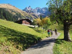 Wanderwege rund um Oberstdorf