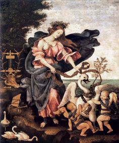 Allegory of Music or Erato by LIPPI, Filippino #art