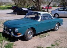 1964 Volkswagen Ghia T34 - This is a new one on me.  Love it.