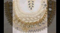 Mirror work  blouses patterns  Pinte Video 2016