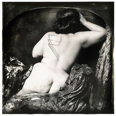 Courbet in Rejlander's Pool, New Mexico, 1985 © Joel-Peter Witkin, courtesy Baudoin Lebon