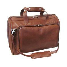 AmeriLeather Leather Carry on Brown Weekend Duffel - Travel Duffel Bag for sale online Vertical Messenger Bag, Canvas Messenger Bag, Crossbody Messenger Bag, Duffel Bag, Best Luggage, Luggage Sets, Briefcase For Men, Leather Briefcase, Studded Backpack