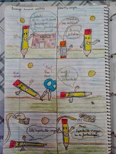 Les BD des élèves de Cinquième !! (¡¡Los cómic de los alumnos de 5º!!)