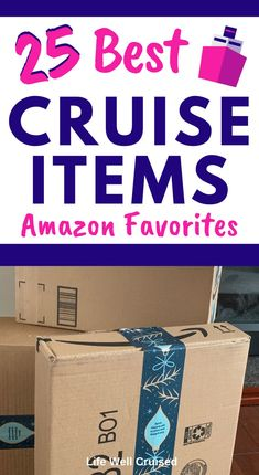 Here are the 25 most popular and recommended items to bring with you on your cruise. A must read for anyone preparing for their cruise vacation! Packing List For Cruise, Disney Cruise Tips, Best Cruise, Cruise Travel, Cruise Vacation, Vacation Deals, Packing Lists, Travel Deals, Travel Packing