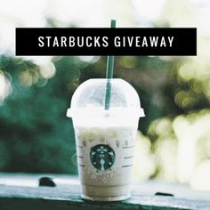 Cold Starbucks Drinks, Starbucks Coffee, Sustainable Food, Sustainable Living, Starbucks Gift Card, Magazines For Kids, Gift Card Giveaway, Epiphany, Sustainability