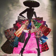 La petite Robe noire revisitée - Sujet Bac d'Arts Plastiques 2011
