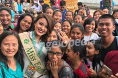 Miss Earth 2016 Katherine Espin is enjoying in Philippines