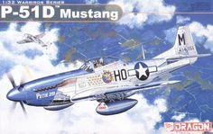 DRAGON 3201 1/32 P-51D Mustang Plastic Aircraft #Affiliate