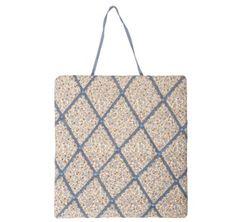 https://www.sassandbelle.co.uk/Square Vintage Floral Memo Board- Paris Blue