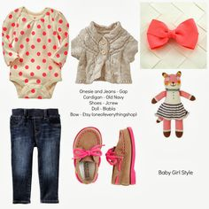 Chesni would look adorable....Taylor Joelle Designs: Children's Style Guide - Baby Girl