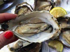Oysters at Isemarkt, Hamburg