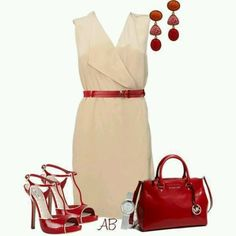 Spring Outfit ♥ Race Day Outfit ♥ (Needs a red hat for race day) ♥