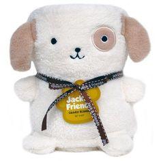 Dog baby Blanket, Beige