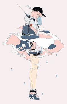 Cool Anime Girl, Anime Art Girl, Manga Art, Pretty Art, Cute Art, Aesthetic Art, Aesthetic Anime, Character Art, Character Design