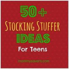 50+ Stocking Stuffers for Teens #wwgh