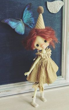 Handmade Clown Dress Set for Anako BJD by AnakosCabinet on Etsy