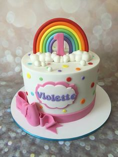 cute rainbow cake                                                                                                                                                                                 More