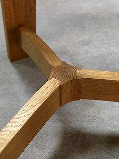 MacGough Table Detail #woodworkingideas #woodworkingplans