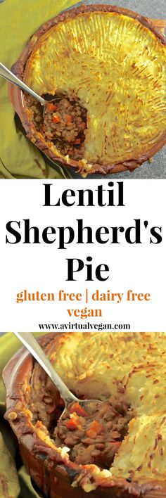 Rich, flavourful, saucy lentils topped with fluffy, creamy mashed potatoes & baked until deliciously golden brown & crispy. The ultimate vegan shepherd's pie!