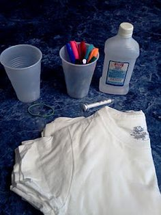 Permanent Marker Tye Dye Shirts