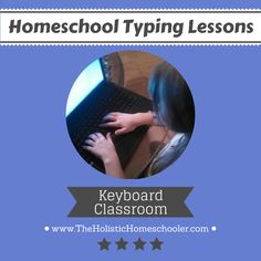 Typing lessons are easy for this 10-year-old girl. Learn how your #homeschool child can learn to type using Keyboard Classroom.