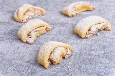 Burgenländerkipferl Cookies, Desserts, Food, Baked Goods, Recipes, Crack Crackers, Tailgate Desserts, Biscuits, Meal