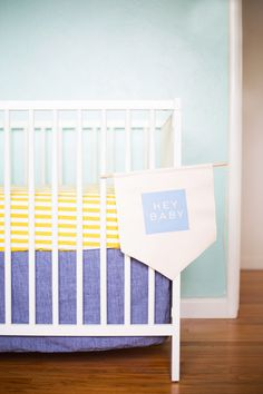 DIY Painted Chambray Banner #MichaelsMakers