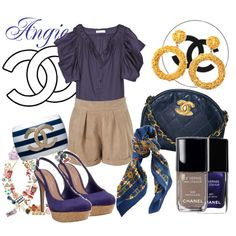 chanel, created by minnie91 on Polyvore