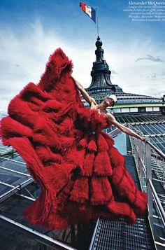 Paris Mon Amour   Photographer: Mario Sorrenti  Models: Aymeline Valade