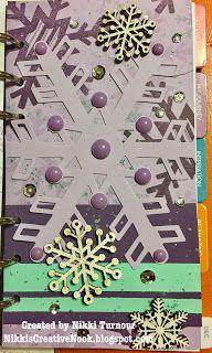 Nikki's Creative Nook: December planner pages