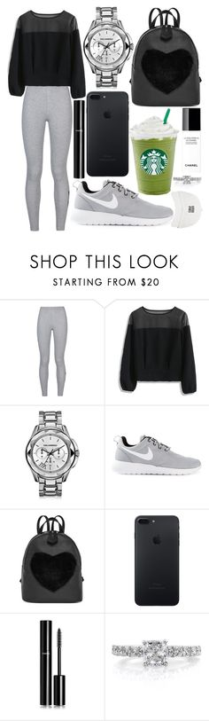 """305."" by plaraa on Polyvore featuring NIKE, Chicwish, Chanel, Karl Lagerfeld and Mark Broumand"