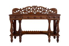 A finely carved Anglo-Indian rosewood sideboard, 19th century125 cm high, 168 cm wide, 62 cm deep - Price Estimate: $1500 - $2500
