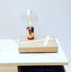 Lamp op Hout