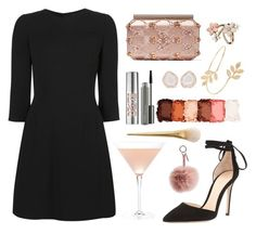 """Untitled #134"" by quynhng ❤ liked on Polyvore featuring Dolce&Gabbana, Oscar de la Renta, Gianvito Rossi, Fendi, Urban Decay, MAC Cosmetics, NYX, Miss Selfridge, Accessorize and Kimberly McDonald"