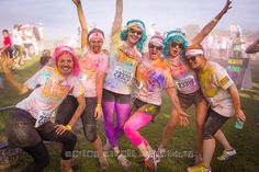 the color run @Krystle Fleming Moments: The Happiest 5K