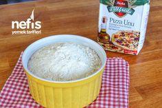 Evde Pizza Tarifi Nasıl Yapılır? – Nefis Yemek Tarifleri Pizza, Salsa, Food And Drink, Breakfast, Kitchen, Omlet, Morning Coffee, Cooking, Kitchens