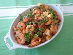 Prato Caseiro: Feijoada de chocos com camarão