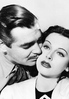 Clark Gable & Hedy Lamarr for Comrade X (1940)