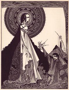 The Vintage Gallery: As Ilustrações de Harry Clarke para os contos de Edgar Allan Poe